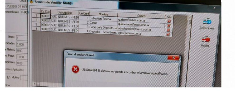 errormails
